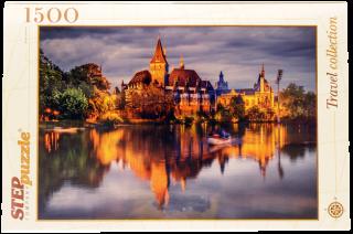 Пазл Замок у озера 1500 элементов Step Puzzle
