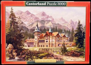 Пазл Замок у подножия гор 3000 элементов Castorland