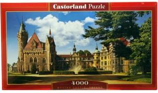 Пазл Замок Польша 4000 элементов Castorland